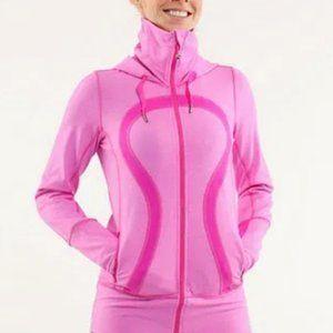 Lululemon In Stride Pink Jacket